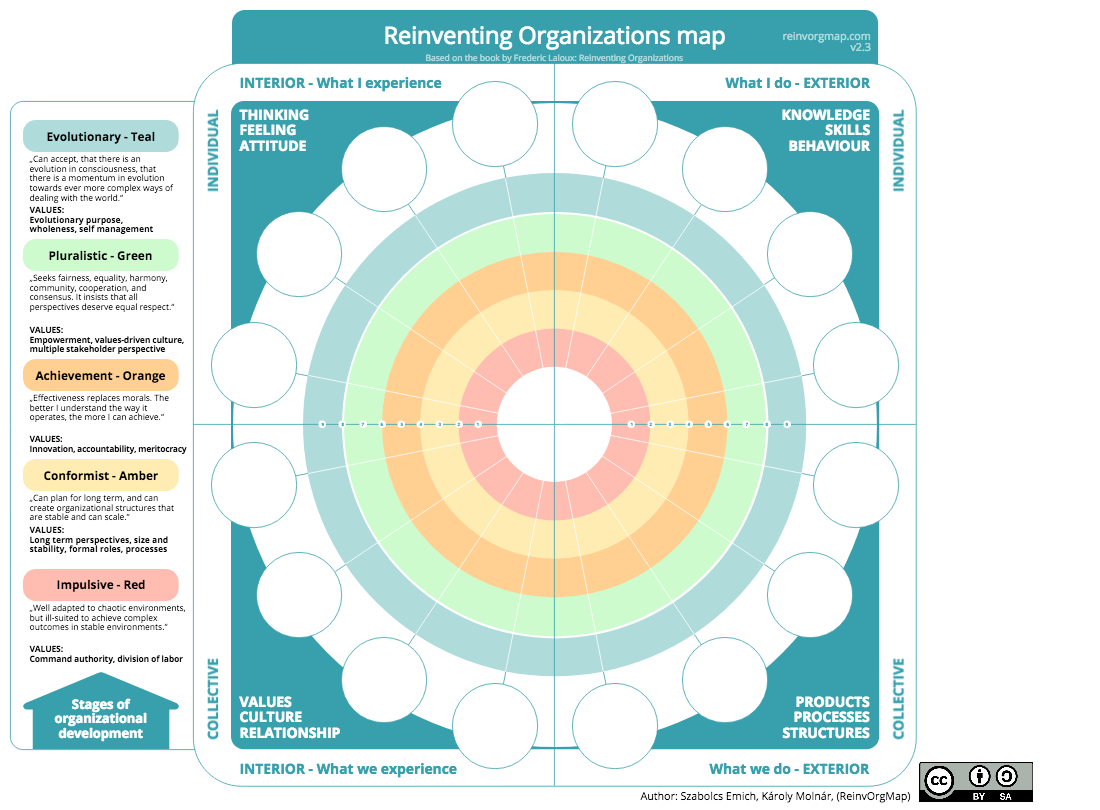 Reinventing Organizations Map BLANK
